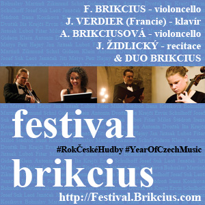 http://Festival.Brikcius.com - FESTIVAL BRIKCIUS - Chamber Music Concert Series at the Stone Bell House in Prague