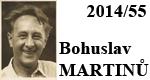 55. výročí úmrtí Bohuslava Martinů (1890 - 1959)