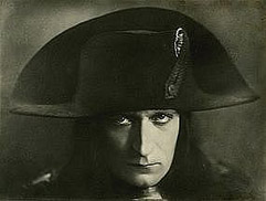 Albert Dieudonné (1889 - 1976) as Napoleon in epic filmu Napoleon (1927) by French director Abel Gance (1889 - 1981)