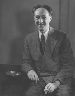 Portrét Bohuslava Martinů, U.S.A. New York 1945