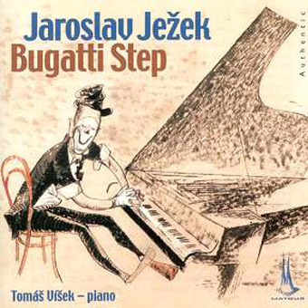 "http://www.Brikcius.com - Pianist Tom�š V�šek: CD ""The piano of Jaroslav Ježek - Bugatti Step"" (Three Policemen Step, Isabel Valse, Grande Valse Brillante, Etude, Petite Suite, Rhapsody, Bagateles, Dance of the Marionette, Spring Wind, Bugatti Step). http://www.Matous.cz - Studio Matouš (The recording was made on Jaroslav Ježek's piano in the Jaroslav Ježek's Memorial - Blue Room, Prague."