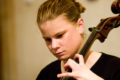"http://www.Brikcius.com - DUO BRIKCIUS, Anna Brikciusová: Czech Cellist - Opening concert ""Duo Brikcius - 2 Cellos Tour"" (Prague, Stone Bell House, GHMP, 2008)"