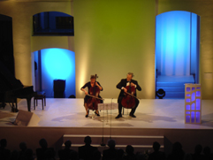 "http://www.Brikcius.com - DUO BRIKCIUS, Anna Brikciusová: Czech Cellist & František Brikcius - Czech Cellist, MKČR ""Duo Brikcius - 2 Cellos Tour Preview"" (Prague, České muzeum hudby, 2008)"